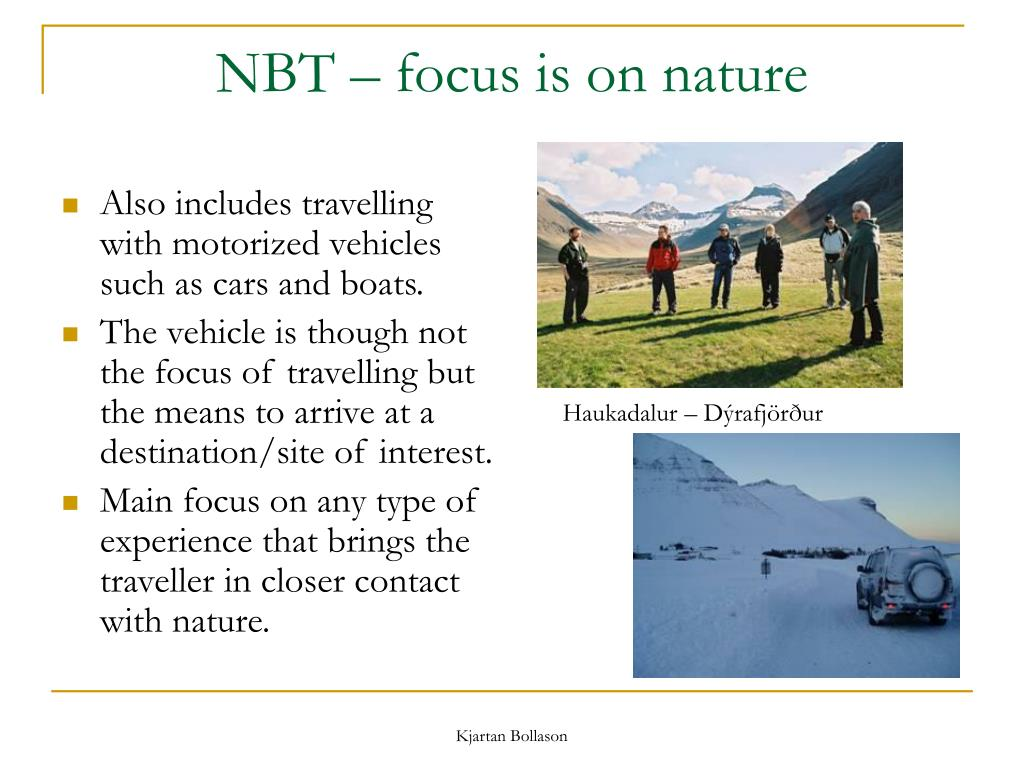 NBT – focus is on nature