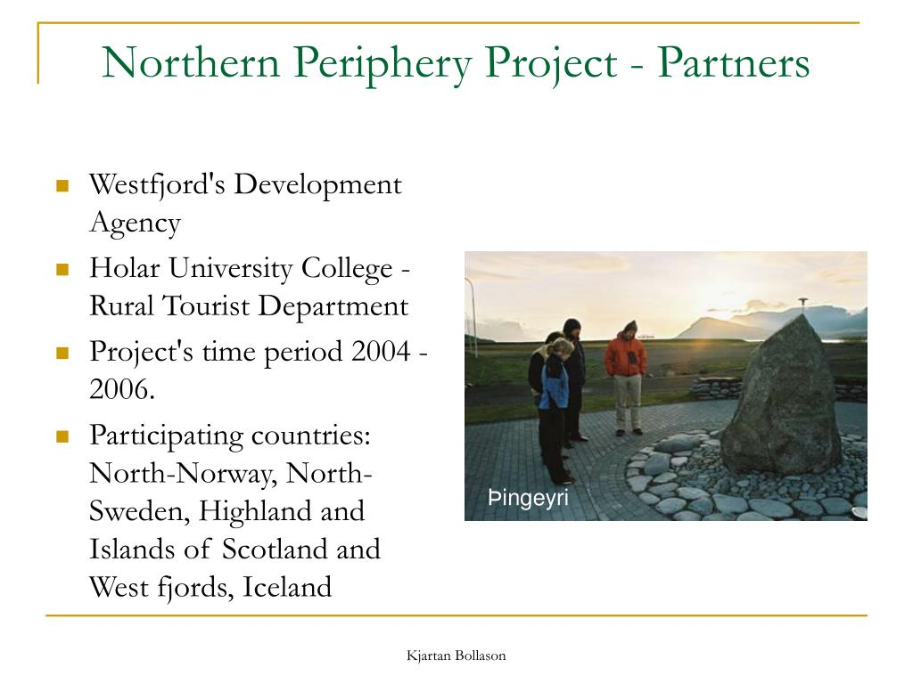 Northern Periphery Project - Partners