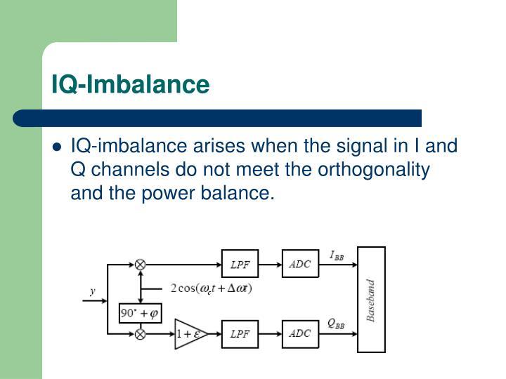 IQ-Imbalance