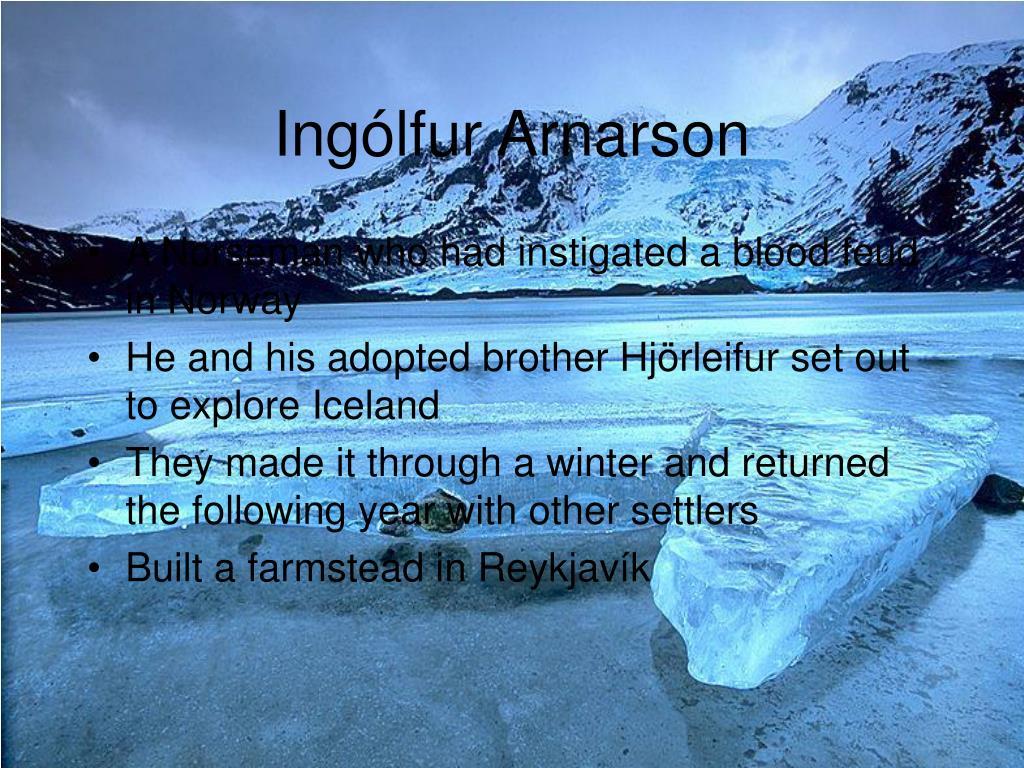Ingólfur Arnarson