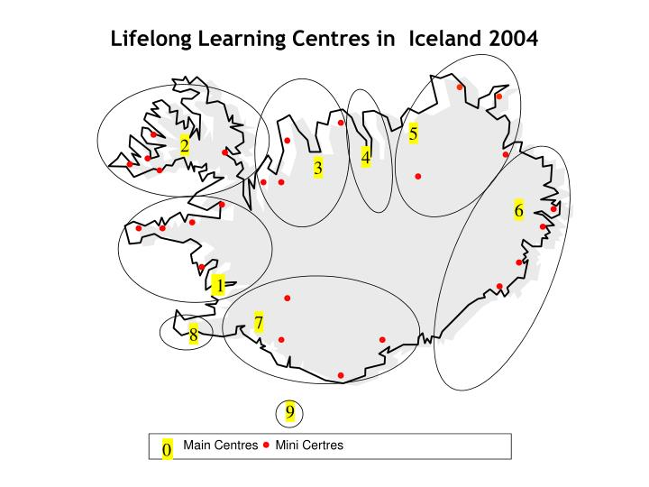 Lifelong learning centres in iceland 2004