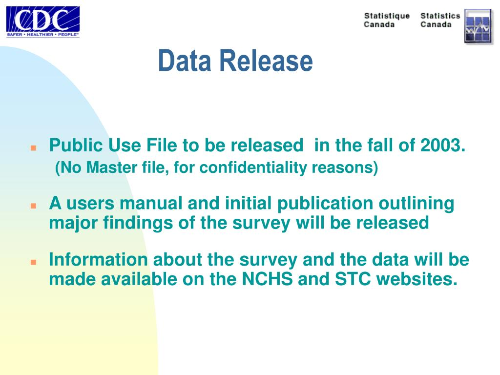 Data Release