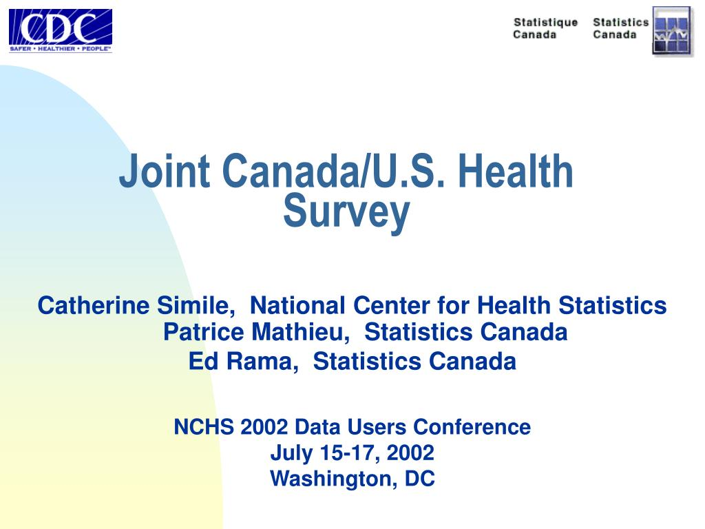 Joint Canada/U.S. Health Survey