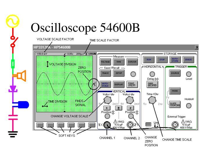 Oscilloscope 54600B