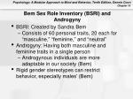 bem sex role inventory bsri and androgyny