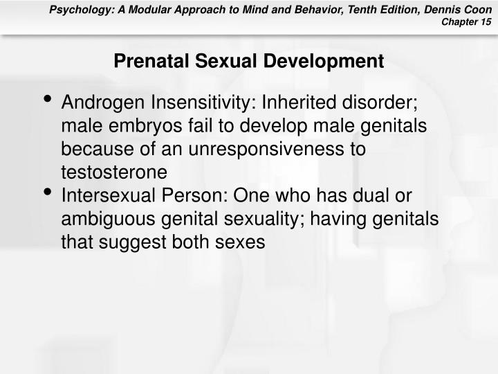 Prenatal Sexual Development