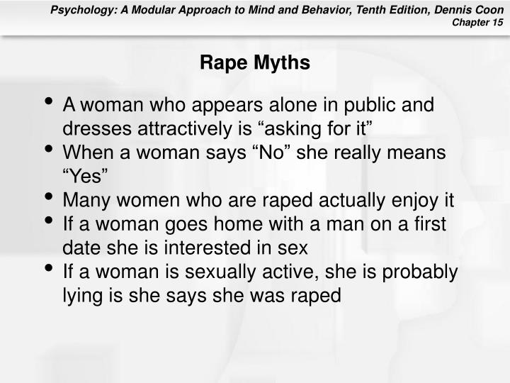 Rape Myths