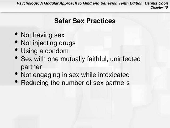 Safer Sex Practices