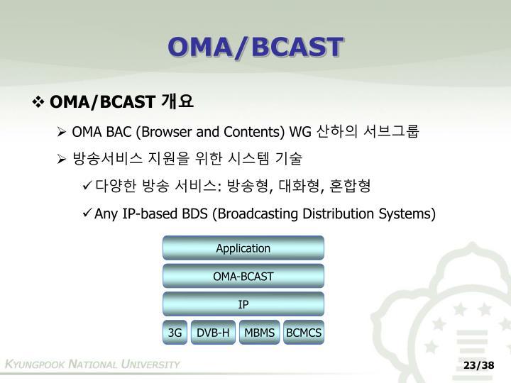 OMA/BCAST