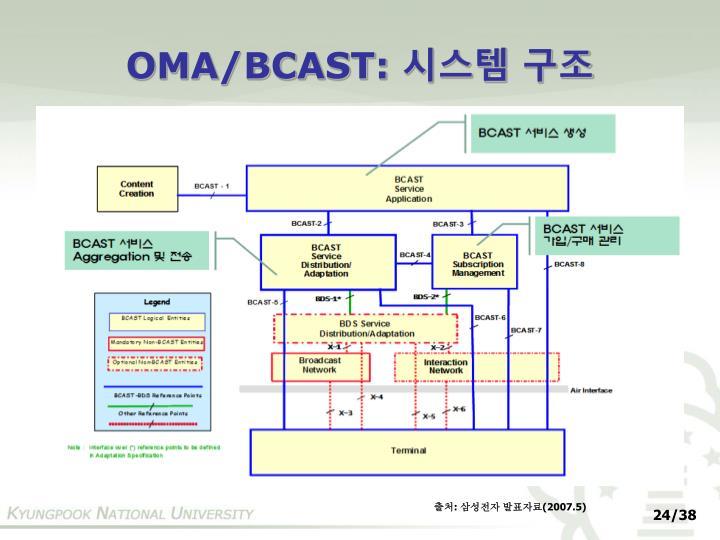 OMA/BCAST: