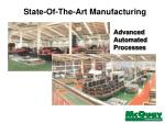 state of the art manufacturing1