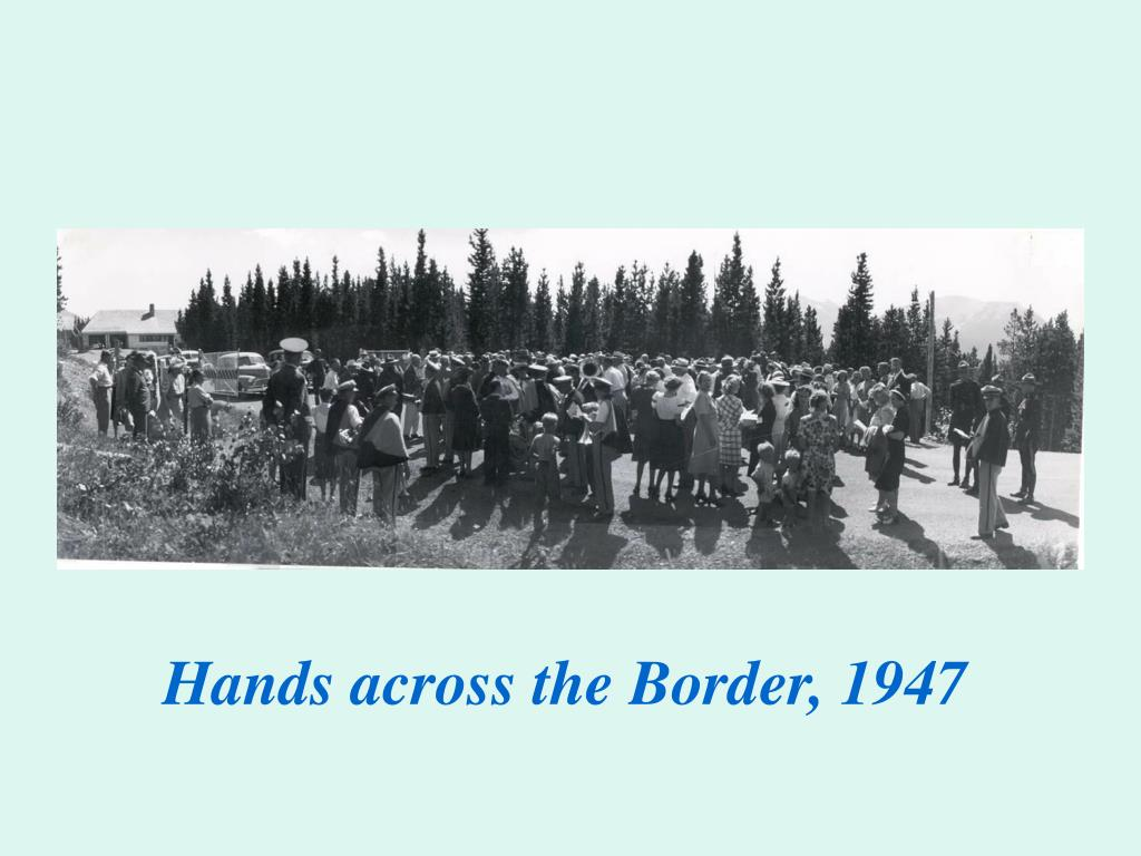 Hands across the Border, 1947