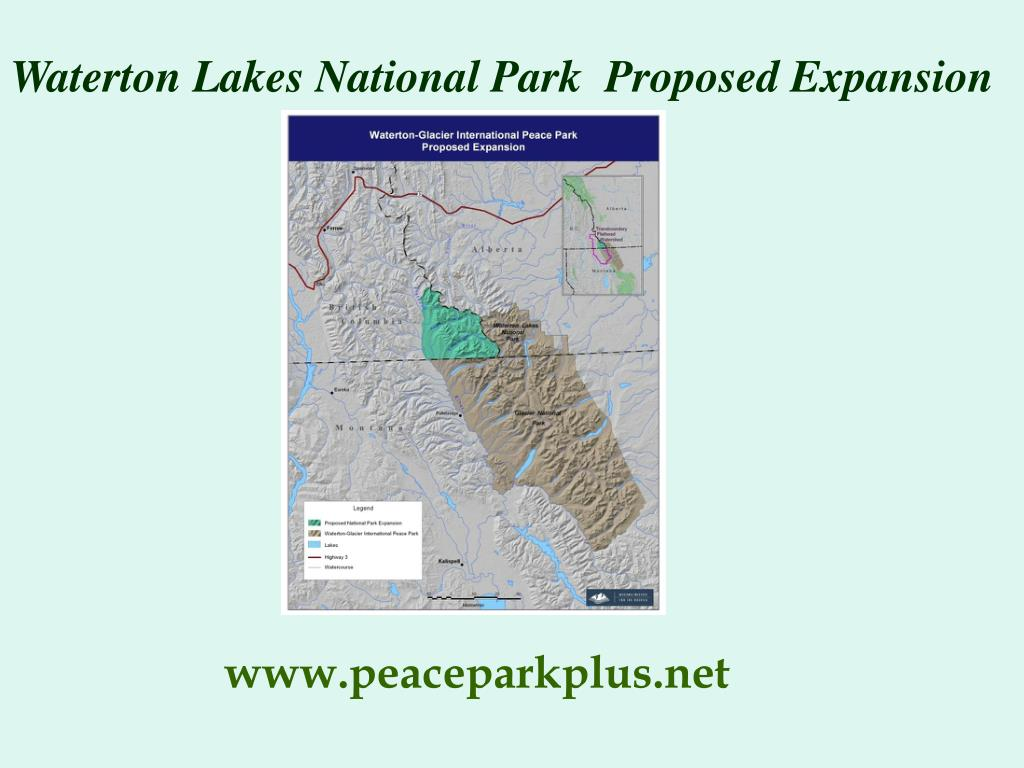 Waterton Lakes National Park  Proposed Expansion