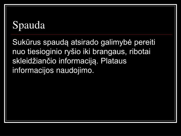 Spauda