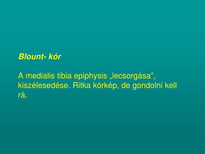Blount- kór