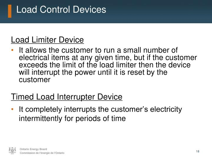 Load Control Devices