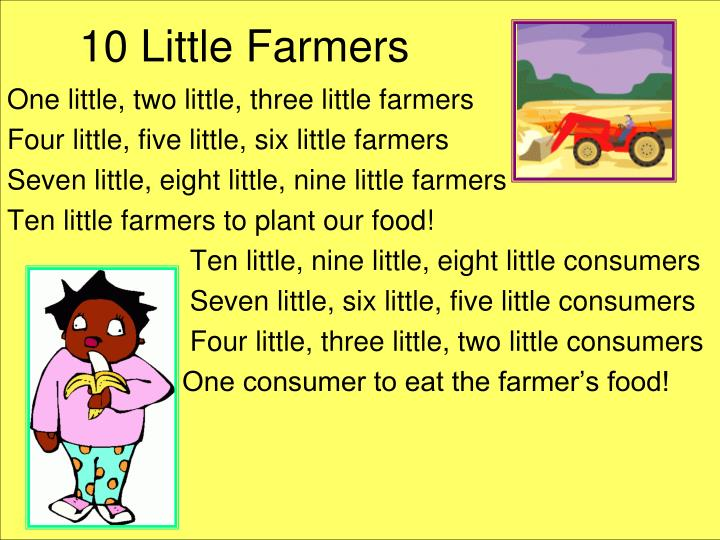 10 Little Farmers