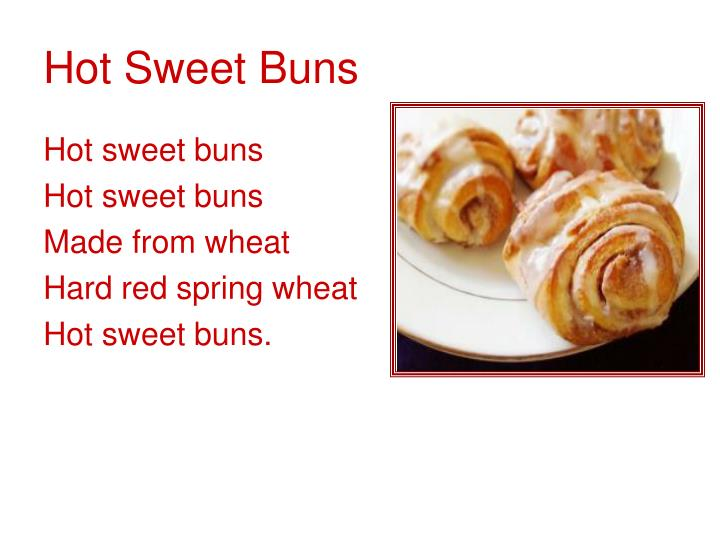 Hot Sweet Buns