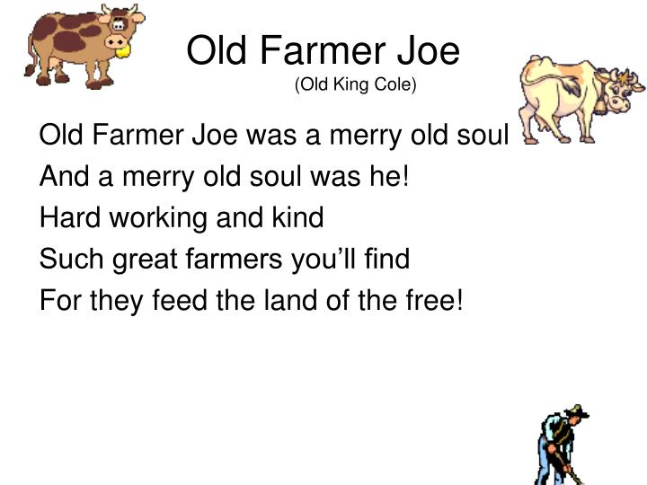 Old Farmer Joe
