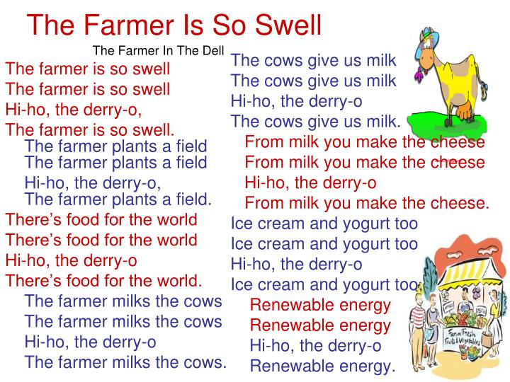 The farmer is so swell