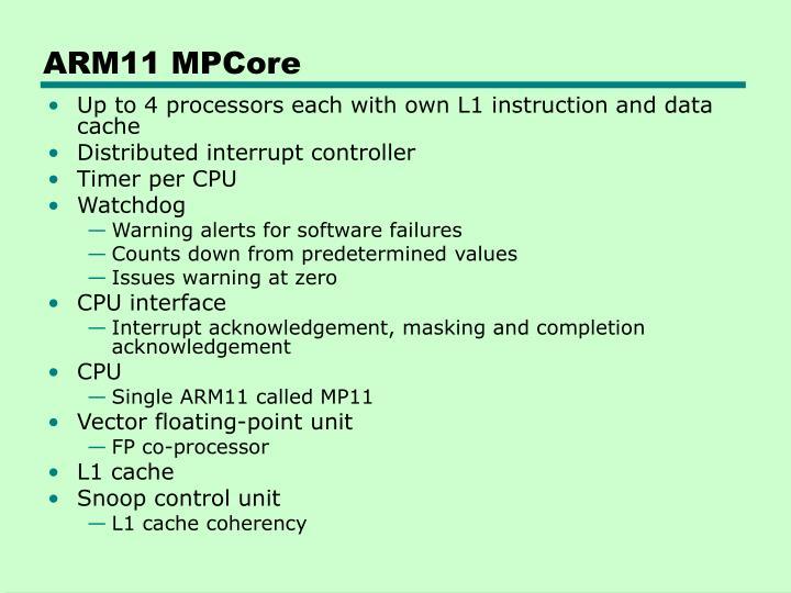 ARM11 MPCore