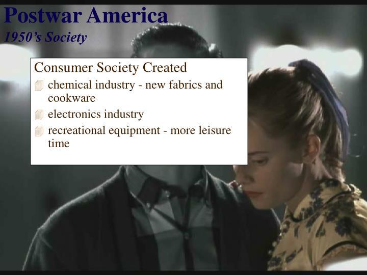 Consumer Society Created