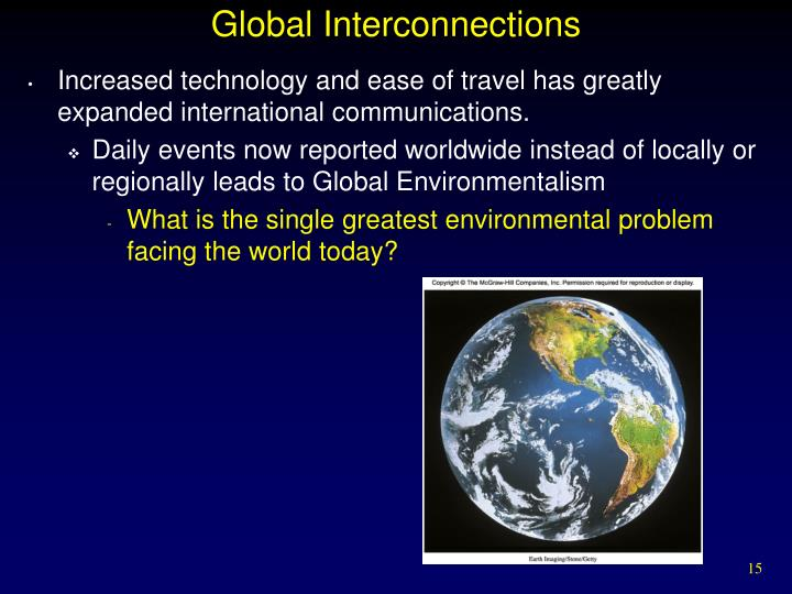 Global Interconnections