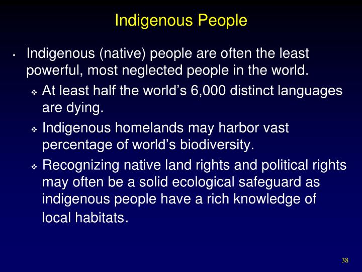 Indigenous People