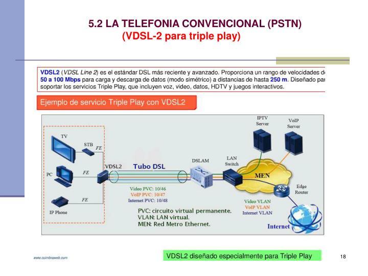 5.2 LA TELEFONIA CONVENCIONAL (PSTN)