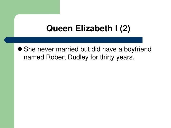 Queen Elizabeth I (2)