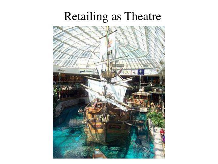 Retailing as Theatre