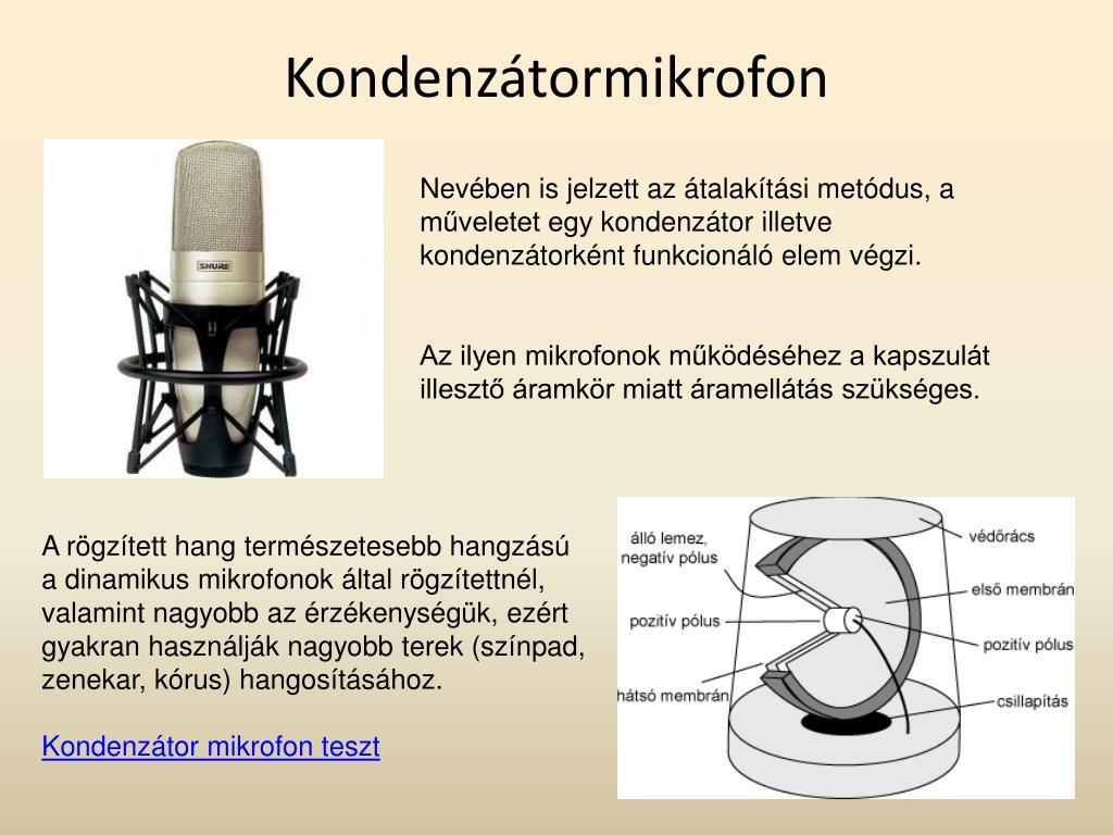 Kondenzátormikrofon