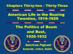 chapters thirty two thirty three