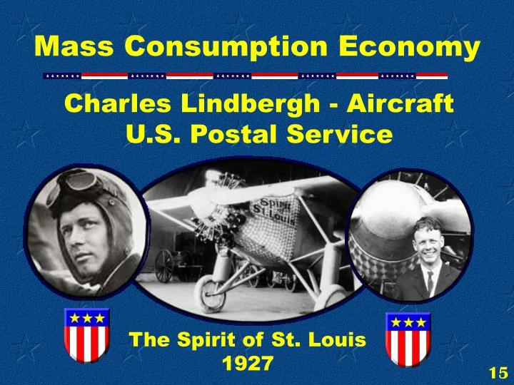 Charles Lindbergh - Aircraft                     U.S. Postal Service