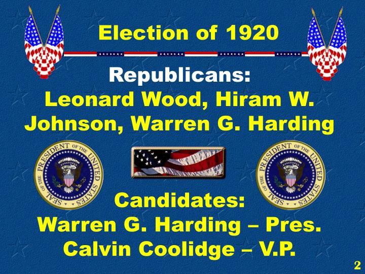 Republicans:
