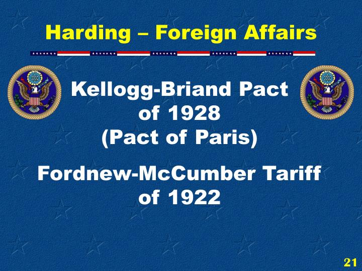 Kellogg-Briand Pact                of 1928                                (Pact of Paris)