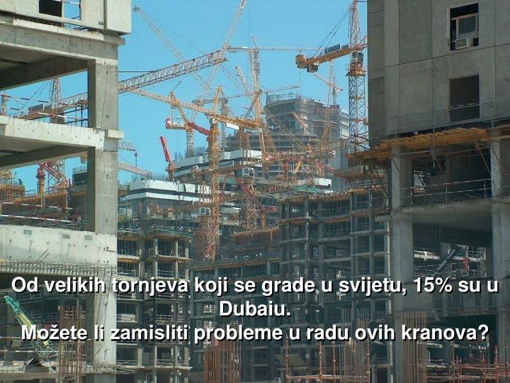 Od velikih tornjeva koji se grade u svijetu,