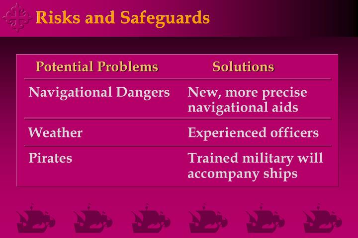 Risks and Safeguards