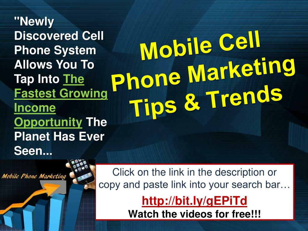 """""""Newly Discovered Cell Phone System Allows You To Tap Into"""