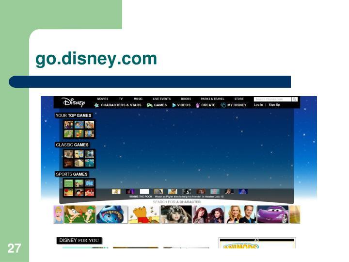 go.disney.com