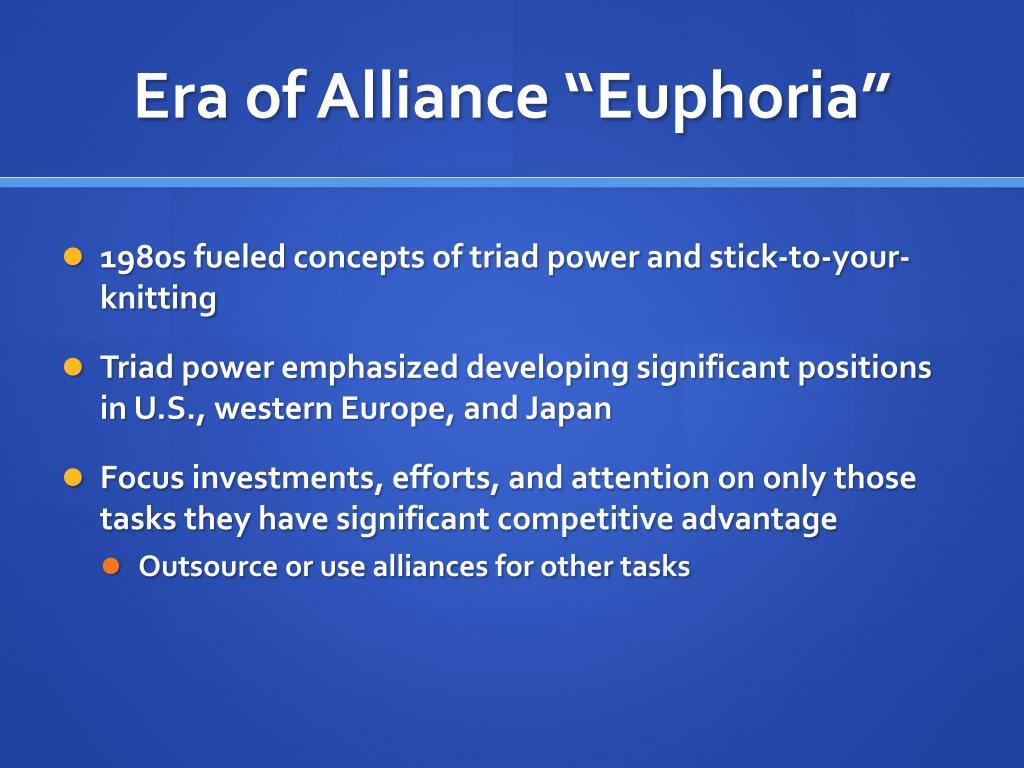 """Era of Alliance """"Euphoria"""""""