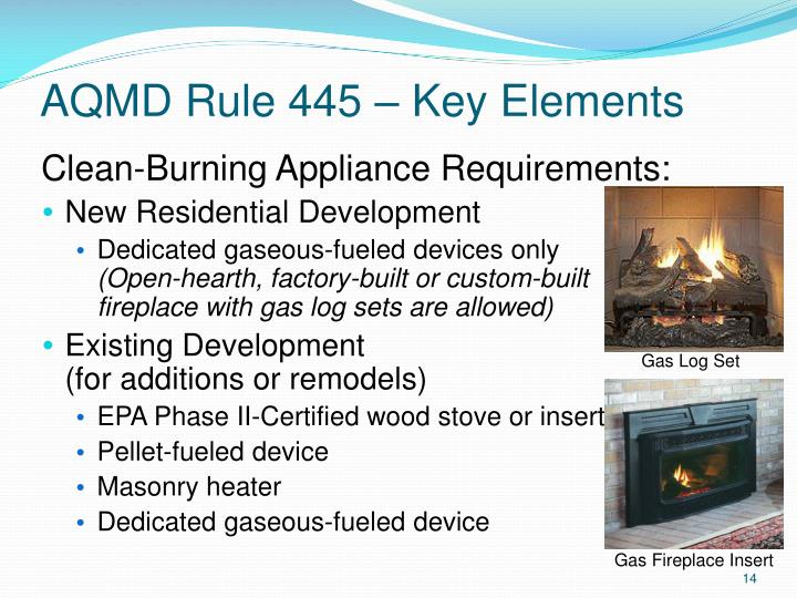 AQMD Rule 445 – Key Elements