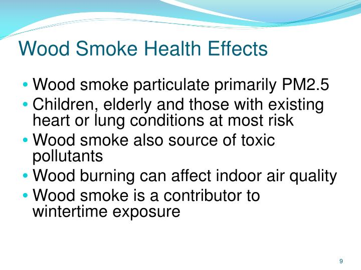 Wood Smoke Health Effects