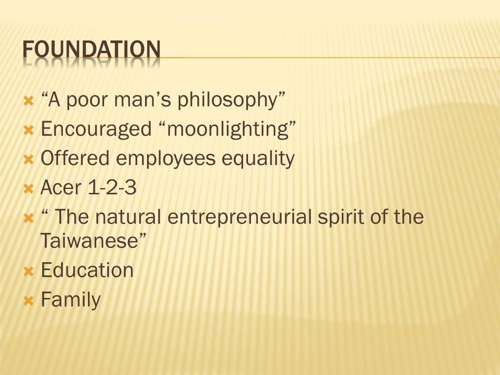 """""""A poor man's philosophy"""""""