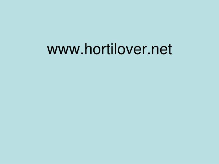 www.hortilover.net