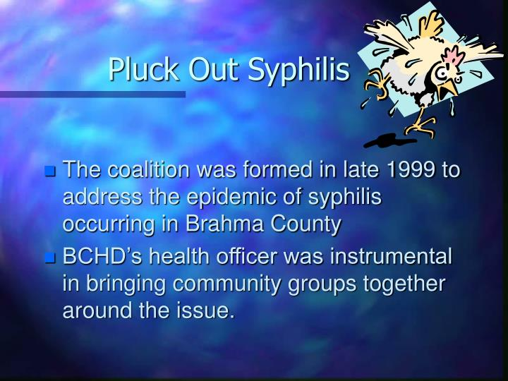 Pluck Out Syphilis