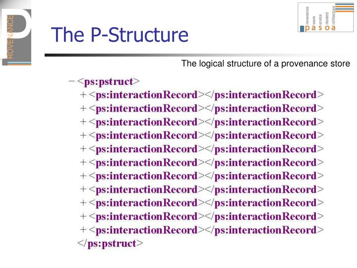 The P-Structure