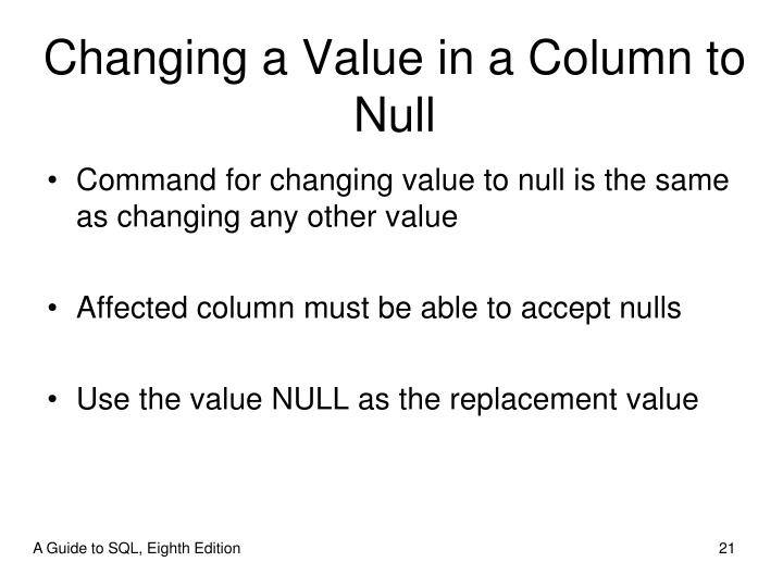 sql assign value to column