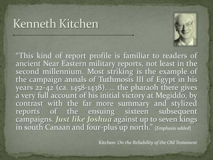Kenneth Kitchen
