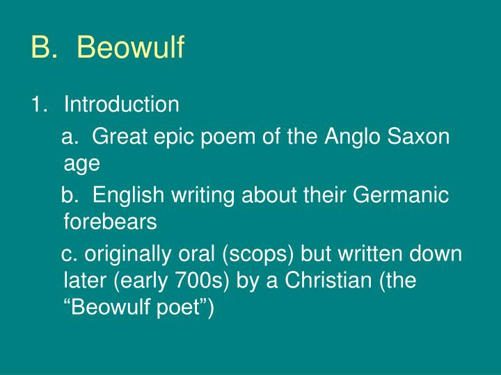 B.  Beowulf